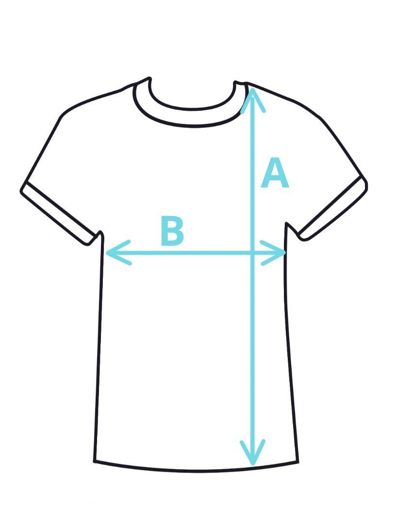 Velikosti dětská trička
