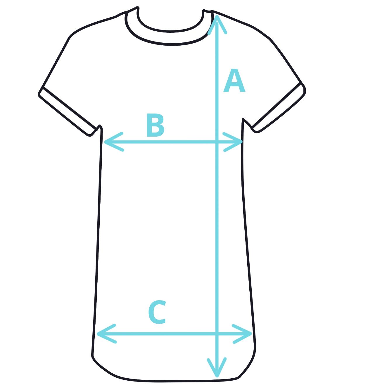 Dětská košilka rozměry